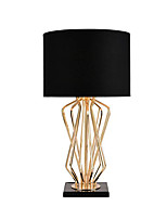 cheap -Contemporary Table Lamp For Metal 110-120V 220-240V White Black