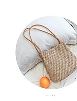 cheap -Women's Bags Terylene Tote Buttons Beige / White yellow