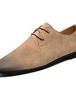 cheap -Men's Shoes TPU Spring Comfort Sneakers Black / Gray / Almond