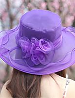 Недорогие -Жен. Шляпа от солнца - Сетка Однотонный