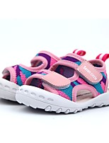 Недорогие -Мальчики Обувь Тюль Лето Удобная обувь Сандалии для Зеленый / Синий / Розовый