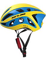 abordables -GUB® Adultes Casque de vélo 22 Aération CE / CPSC Certification Résistant aux impacts, Réglable EPS, PC Cyclisme / Vélo - Un ruban /  Noir / Bleu + jaune. / Noir / Orange.