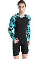 cheap -SBART Men's Dive Skin Suit Quick Dry, Comfortable Nylon Long Sleeve Swimwear Beach Wear Diving Suit Diving / High Elasticity