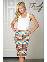 cheap -Women's Set - Geometric Skirt