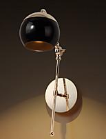 abordables -Cristal / Moderne / Contemporain Décorative Lampe de Table Pour Intérieur Métal 220-240V Noir