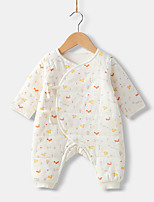cheap -Baby Unisex Print Long Sleeves Overall & Jumpsuit