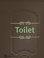 Недорогие -Дверные наклейки - Простые наклейки Персонажи Гостиная