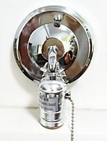 abordables -1pc E26 / E27 100-240V Accessoire d'ampoule Prise de lumière Le fer pour Applique murale