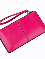 cheap -Women's Bags PU Leather Wallet Zipper for Event / Party / Shopping Yellow / Fuchsia / Sky Blue