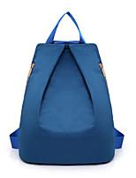cheap -Women's Bags Nylon Backpack Zipper Blue / Black / Red