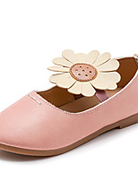 cheap -Girls' Shoes Rubber Summer Light Soles Flats for Gray / Yellow / Pink