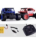 Недорогие -Машинка на радиоуправлении 1 канал 2.4G Багги (внедорожник) / Автомобиль / Монстр грузовик 1:16 Бесколлекторный электромотор 10km/h КМ / Ч