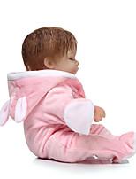 Недорогие -NPKCOLLECTION Куклы реборн 16 дюймовый Силикон Детские Мальчики / Девочки Подарок