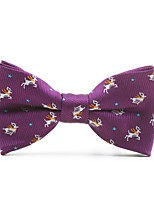 cheap -Unisex Cute Basic Bow Tie - Print