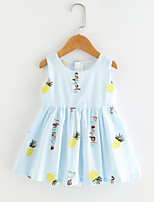 cheap -Kids Girls' Fruit Sleeveless Dress
