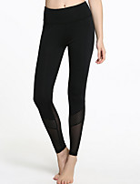 cheap -Women's Daily Sporty Legging - Solid Colored High Waist