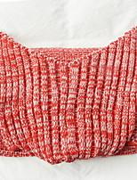 baratos -Velocino de Coral, Fios Tingidos Xadrez Fibras Acrilicas cobertores