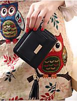 cheap -Women's Bags PU Coin Purse Buttons / Zipper for Outdoor Gray / Almond / Sky Blue