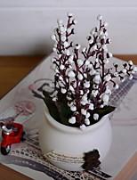 Недорогие -Искусственные Цветы 1 Филиал Деревня слива Букеты на стол