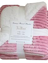 baratos -Super Suave, Estampado e Jacquard Estampado Fibras Acrilicas Poliéster / Poliamida cobertores