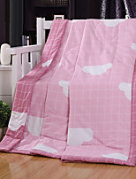 cheap -Comfortable - 1pc Bedspread Summer Cotton Print / Mixed Color