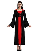cheap -Witch Outfits Unisex Halloween Carnival Day of the Dead April Fool's Day Masquerade Valentine's Day Birthday New Year Children's Day