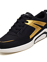cheap -Men's Shoes Fabric Spring & Fall Light Soles Sneakers Gray / Black / Gold / Black / White