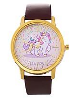 baratos -Mulheres Relógio Elegante Chinês Cronógrafo PU Banda Criativo / Fashion Preta