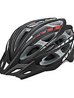 abordables -GUB® Adultos Casco de bicicleta 30 Ventoleras CE / CPSC Certificación Resistente a Golpes, Ajustable, Visera extraíble EPS, ordenador personal Ciclismo / Bicicleta - Negro / Rojo / Rosa