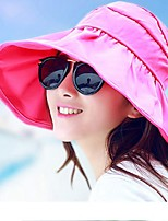 cheap -Women's Holiday Sun Hat - Solid Colored
