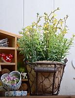 preiswerte -Künstliche Blumen 1 Ast Rustikal / Retro Pflanzen Tisch-Blumen