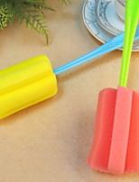 economico -Cucina Prodotti per la pulizia Plastica / microfibra spugna Rotolo e spazzola elettronica levapeli Cucina creativa Gadget 1pc