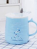 cheap -Drinkware Porcelain Mug Cartoon Cute 1pcs