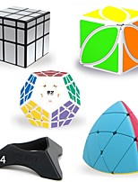 cheap -Rubik's Cube 8 PCS QIYI B Alien / Megaminx / Mastermorphix 5*5*5 / 3*3*3 Smooth Speed Cube Magic Cube / Rubik's Cube Puzzle Cube