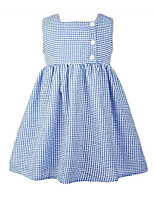 cheap -Baby Girls' Solid Colored Sleeveless Dress