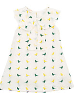 cheap -Toddler Girls' Floral Sleeveless Dress