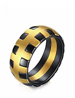 cheap -Men's Band Ring - Circle Fashion Gold Ring For Gift / Daily