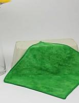 abordables -Style frais Essuie-mains Serviette, Couleur Pleine Qualité supérieure Polyester / Coton Etoffe plaine 1pcs