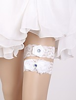 cheap -Lace Classic Jewelry / Lace Wedding Garter 617 Floral Garters Wedding / Party & Evening