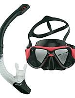 Недорогие -Наборы для снорклинга Защита от влаги, Защита от ветра, Cool Дайвинг, Для погружения с трубкой, Пляж  Силикон, PC (поликарбонат)  Для