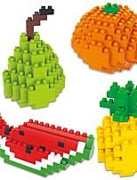 cheap -Building Blocks 4pcs Cartoon / Fruit Animals Gift