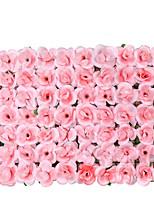 preiswerte -Künstliche Blumen 1 Ast Stilvoll Rosen Wand-Blumen