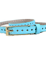cheap -Women's Basic / Street chic Skinny Belt - Solid Colored Cut Out