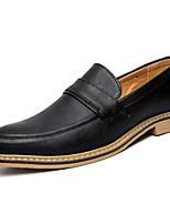Недорогие -Муж. обувь Искусственное волокно Весна Удобная обувь Мокасины и Свитер Черный / Серый / Темно-русый