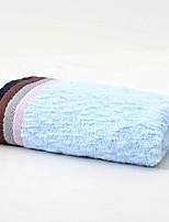abordables -Qualité supérieure Serviette, Couleur Pleine 100% Coton 1 pcs