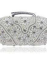preiswerte -Damen Taschen Perle / Strass Steine Abendtasche Perlenstickerei / Perlen Verzierung für Hochzeit / Veranstaltung / Fest Gold / Schwarz /