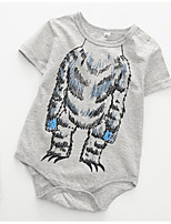 cheap -Baby Unisex Print Short Sleeve Bodysuit