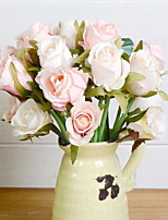 cheap -Artificial Flowers 1 Simple Style Roses Tabletop Flower