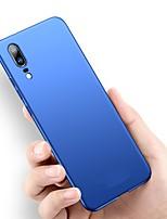 billiga -fodral Till Huawei P20 Pro / P20 lite Ultratunt / Frostat Skal Enfärgad Hårt PC för Huawei P20 / Huawei P20 Pro / Huawei P20 lite / P10 Plus / P10 Lite / P10