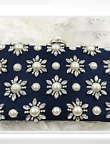 cheap -Women's Bags Polyester Evening Bag Crystals for Wedding / Event / Party Blue